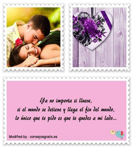 originales mensajes de romànticos para mi novio con imágenes