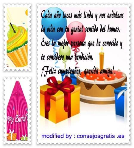 Originales Frases De Cumpleaños Para Una Amiga