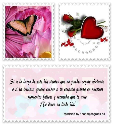 lindas postales de buenos dias mi amor