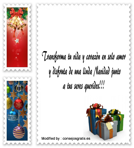 versos para enviar en Navidad