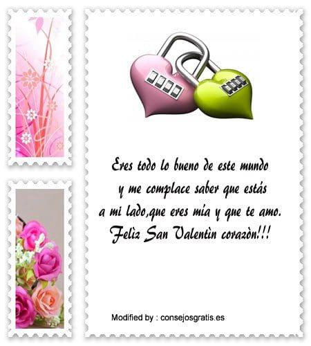 descargar frases para San Valentin gratis