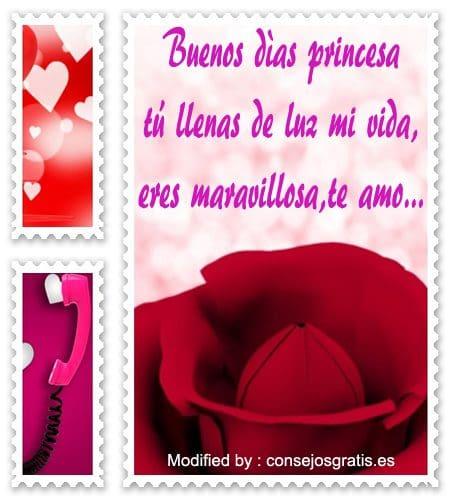 Mensajes De Buenos Dìas Para Mi Amor Frases De Buenos Dìas