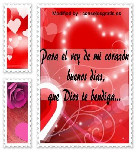 Mensajes De Buenos Dias Para Mi Amor Frases De Buenos Dias