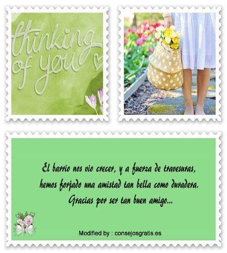 buscar palabras bonitas de amistad