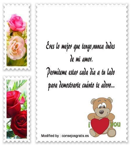 bonitos mensajes románticos