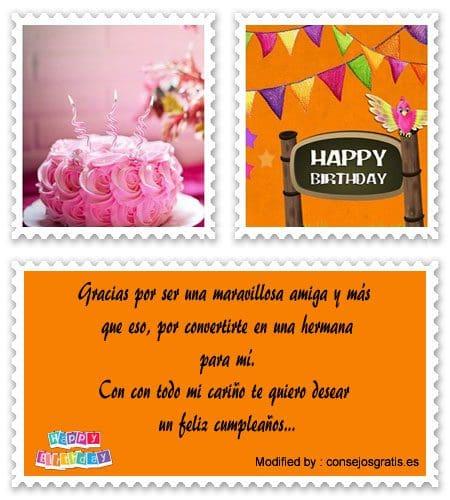 enviar imàgenes con saludos de cumpleaños para mi amiga