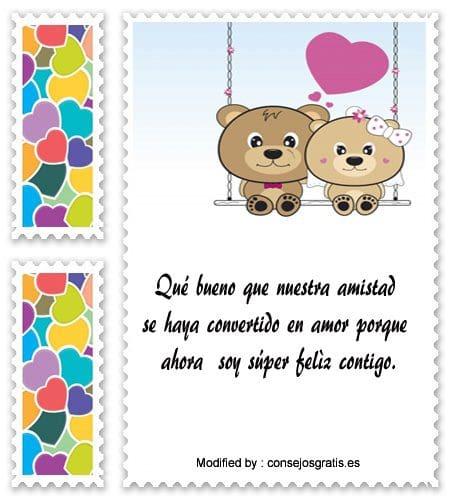 Mensajes De Amor Y Amistad Para Tu Novia Frases De Amor