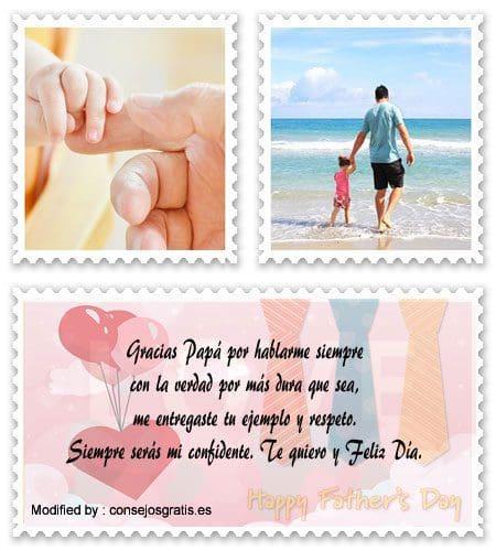 Mensajes Por El Día Del Padre Saludos Para El Día Del Padre