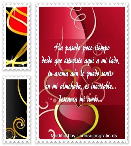 Lindos Mensajes De Buenas Noches Para Mi Amor Que Extrano
