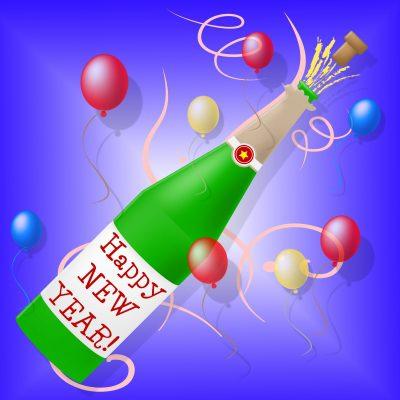 bajar nuevos mensajes de Año Nuevo, descargar gratis lindas dedicatorias de Año Nuevo