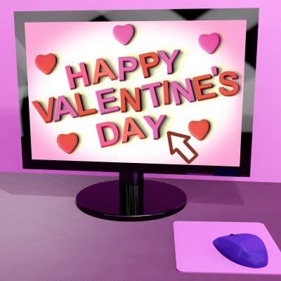 ejemplos de lindos mensajes de San Valentín para Facebook, buscar bellos textos de San Valentín para Facebook
