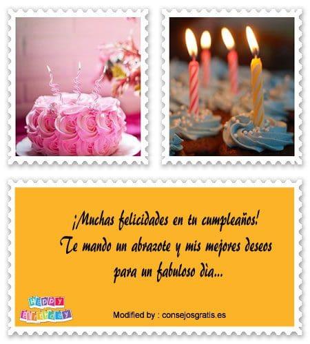 los mejores deseos de feliz cumpleaños para whatsapp