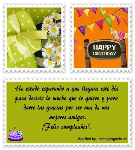 dedicatorias de feliz cumpleaños para enviar