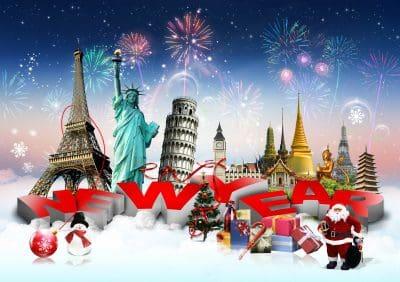 bajar lindas dedicatorias de Navidad y Año Nuevo, enviar nuevas frases de Navidad y Año Nuevo