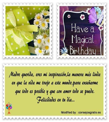 descargar mensajes bonitos de cumpleaños para mi Mamà