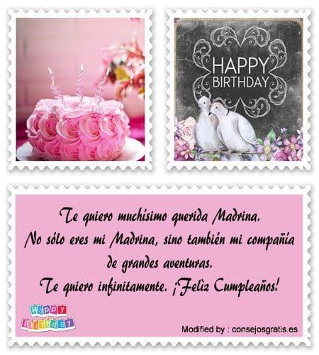 descargar mensajes bonitos de cumpleaños para mi Madrina
