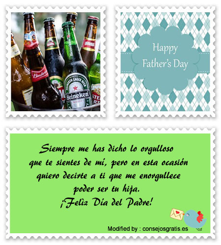 frases para el dia del Padre