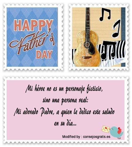 descargar mensajes para el dia del Padre