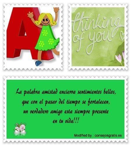 frases y tarjetas de amistad para compartir