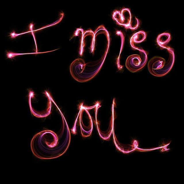 enviar bonitos mensajes de nostagía para tu amor