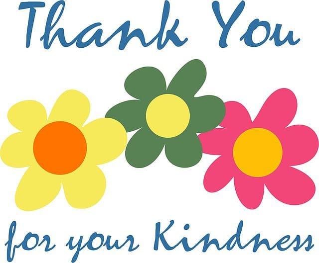 enviar lindas palabras de gratitud por saludos cumpleañeros