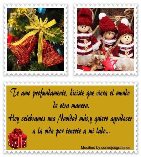 originales frases para enviar en Navidad