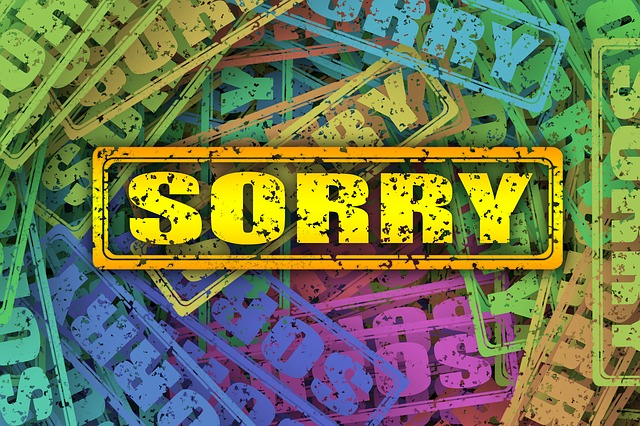 buscar bonitas palabras para pedir disculpas a tu pareja