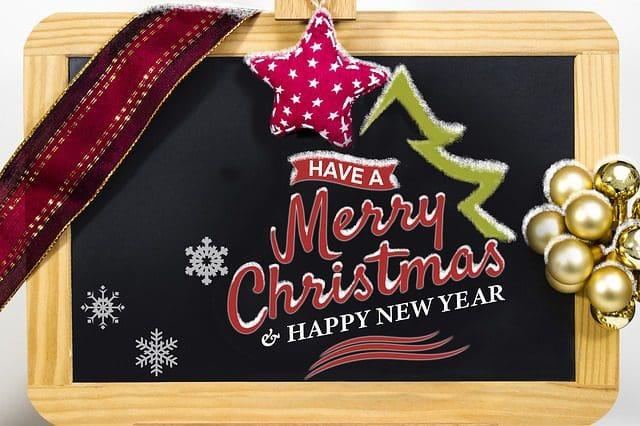 buscar lindas palabras de Navidad y Año Nuevo