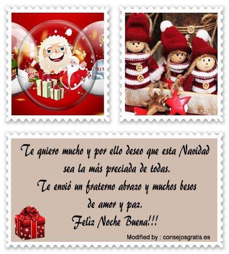 bonitas tarjetas para enviar en Navidad