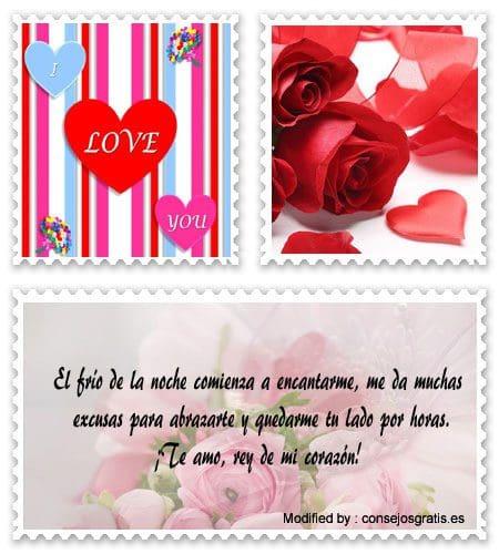 dedicar postales de amor para mi novio